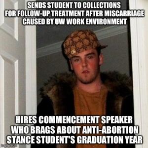http://barefootandpolitical.com/2013/05/15/on-uws-choice-of-jon-huntsman-as-commencement-speaker/
