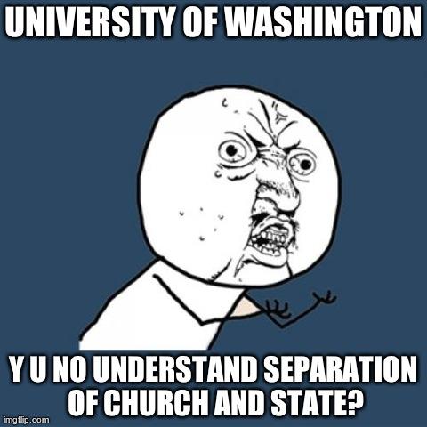 UW: Y U No...